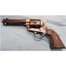 Colt .41 Colt revolver, pat dates 1871 & 1875, sn 165311, 4 3/4  bbl, some rebluing