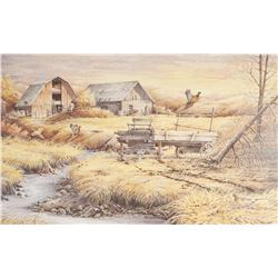 "Maloney, Dave,  ""Country Memories"", 17/500, 14"" h x 22"" w"