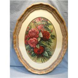 """Flesch, Joanne, """"Roses"""", mixed media, 21"""" h x 15"""" w"""