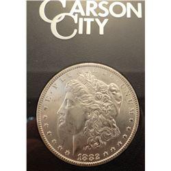 1883 CC Morgan dollar in GSA folder
