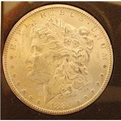 1884 CC Morgan dollar in GSA folder