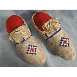 Sioux beaded moccasins