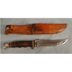 """2 Kubar hunting knives, 5""""  and 7"""" w/sheaths"""