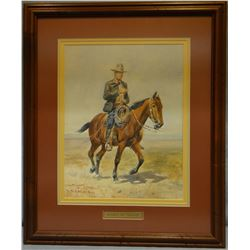 """Russell, C.M., Russell on Neenah, framed print, 11"""" x 14"""""""