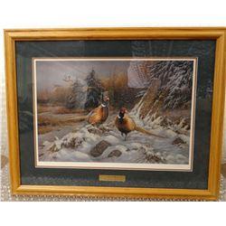 """Millette, Rosemary framed print Broken Silence, 18"""" x 26"""", 622/1500"""