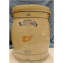 Red Wing 10 gal. water cooler, near mint, no lid or spout