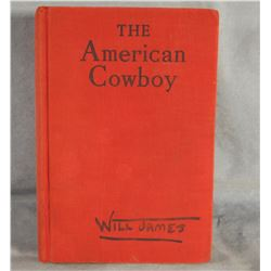 James, Will, American Cowboy, 1st, 1942, faded boards
