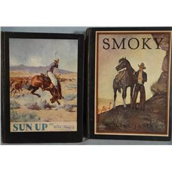 4 books by James, Will, Smoky, 1st Thus (Classic), good and Sun Up, lllus. Cover Ed., 1942, good; In