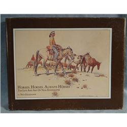 Eggenhofer, Nick book, The Life and Art of Nick Eggenhofer, Horses and More Horses