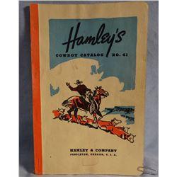 Hamley #41 catalog and Miles City Saddlery catalog