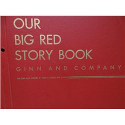 Russell, David, Our Big Red Story Book, Ginn & Co., child's book