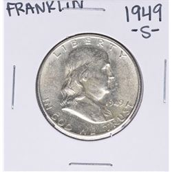 1949-S Franklin Half Dollar Coin