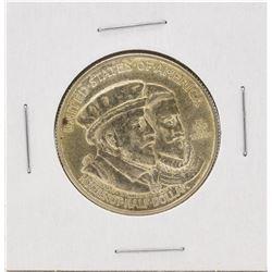 1924 Huguenot Centennial Commemorative Half Dollar Coin
