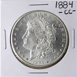 1884-CC $1 Morgan Silver Dollar Coin