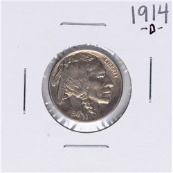 1914-D Buffalo Nickel Coin
