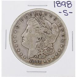 1898-S $1 Morgan Silver Dollar Coin