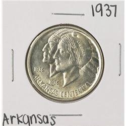 1937 Arkansas Centennial Commemorative Half Dollar Coin