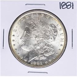 1881 $1 Morgan Silver Dollar Coin