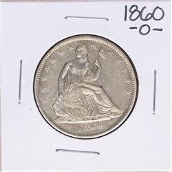 1860-O Seated Liberty Half Dollar Coin