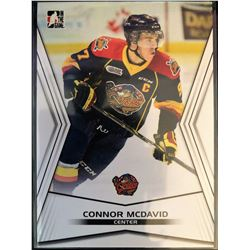 2014-15 Leaf In The Game Connor Mcdavid Card #01