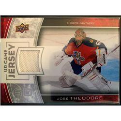 2013-14 Upper Deck Game Jersey Jose Theodore #GJ-TH