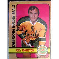1972-73 O-Pee-Chee Joey Johnston Card #96
