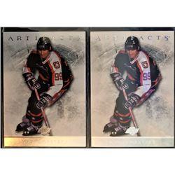 2012-13 Upper Deck Artifacts X 2 Wayne Gretzky Card #98