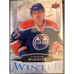2016 Upper Deck Winter Connor Mcdavid Card #W6
