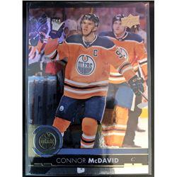 2017-18 Upper Deck Silver Foil Connor Mcdavid Card #320