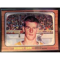 1966-67 Rookie Reprint Bobby Orr Card #35