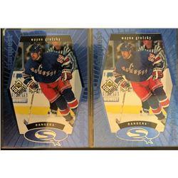 1998-99 Upper Deck UD Choice X 2 Wayne Gretzky Blue