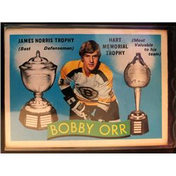 1971-72 O-Pee-Chee Bobby Orr Card #245 Hart Trophy,