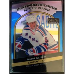 2017-18 O-Pee-Chee Platinum Records Wayne Gretzky