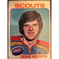 1975-76 Topps Denis Herron Card #68