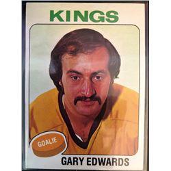 1975-76 Topps Gary Edwards Card #105