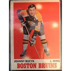 1970-71 O-Pee-Chee Johnny Bucyk Card #2
