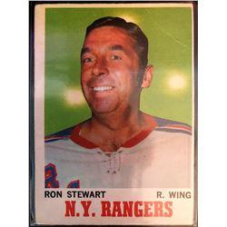 1970-71 O-Pee-Chee Ron Stewart Card #64