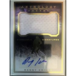 2015-16 Panini Anthology Danny Kristo Sizeable Signature
