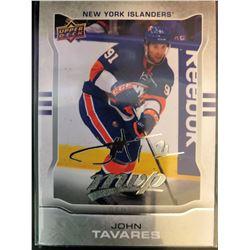 2014-15 Upper Deck MVP Silver Script John Tavares