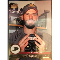 2017-18 Upper Deck Exclusive Ryan Kesler Card #6