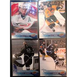 2016-17 Upper Deck Canvas X 4 Jordan Staal #C18,