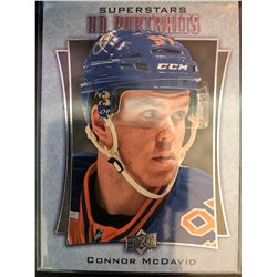 2016-17 Upper Deck Portraits Connor Mcdavid Card #P-53