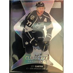 2017-18 Upper Deck Clear Cut Jeff Carter Card Superstars