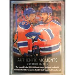 2015-16 SP Authentic Connor Mcdavid, Taylor Hall #160