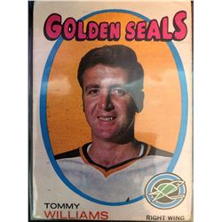 1971-72 O-Pee-Chee Tommy Williams Card #31