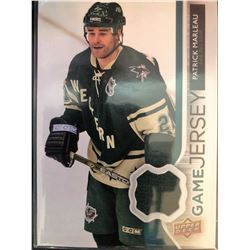 2014-15 Upper Deck Game Jersey Patrick Marleau