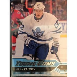 2016-17 Upper Deck Young Guns Nikita Zaitsev Card #234