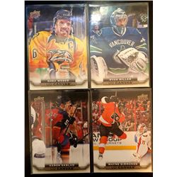 2015-16 Upper Deck Canvas X 4 Shea Weber #C50, Aaron