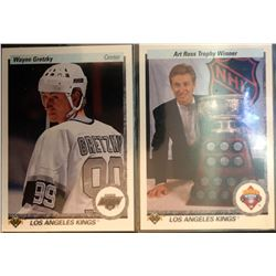 1990-91 Upper Deck Wayne Gretzky #54, And 1990-91
