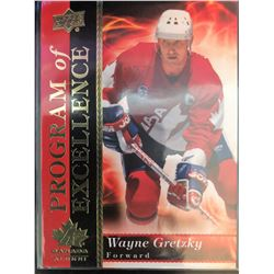 2018 Upper Deck Team Canada Juniors Wayne Gretzky